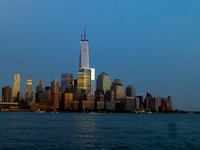 Freedom Tower and Manhattan Island - Summer 2013