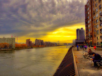 East River from Upper East Side, Manhattan